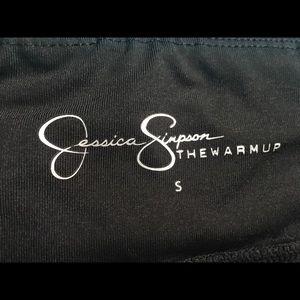 Jessica Simpson Pants - Jessica Simpson The Warm Up Mesh Star